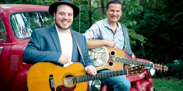 Rob Ickes & Trey Hensley – Grammy nominated –  traditional & contemporary bluegrass, country, blues, rock – SUNDAY show