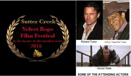 Sutter Creek Velvet Rope Film Festival – International high quality independent film