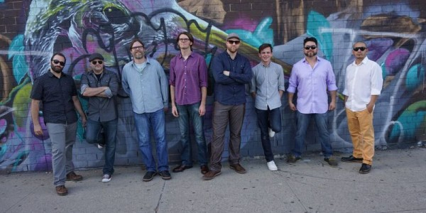 Polyrhythmics – Afro-beat horn-driven funk  – 8 piece orchestra PLUS guest vocalist and trumpeter Lucky Brown