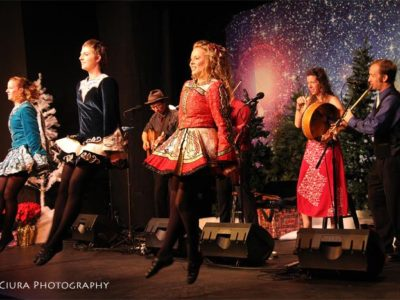 "WE HAVE TICKETS AT THE DOOR FOR ""Winterdance"" –  A Celtic Christmas Celebration"" presented by Molly's Revenge – with Celtic dancers!"
