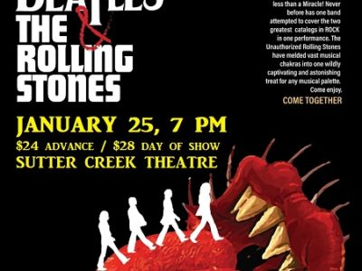 "The Unauthorized Rolling Stones presents ""Come Together"" – music of The Beatles & The Rolling Stones"